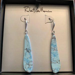 💖NWT💖 Robert Lee Morris Turquoise Earrings